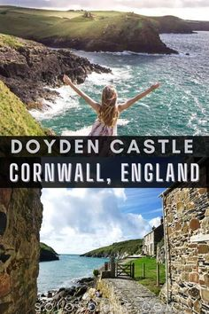 England hidden gem in Cornwall/ Port Quin & Doyden Castle: A Castle on the Edge of Cornwall