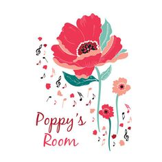 Poppy's Room Print by TwoxTwoDesign on Etsy