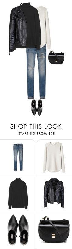 """MINIMAL + CLASSIC: """"Untitled #584"""" by feryfery on Polyvore featuring Abercrombie & Fitch, Hope, Equipment, Miu Miu and Chloe @mymemorybook"""