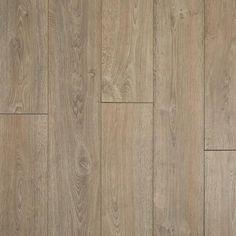 French Oak Gray Water-Resistant Laminate Floor and Decor Grey Laminate, Oak Laminate Flooring, Basement Flooring, Carpet Flooring, Tile Flooring, Flooring Ideas, Kitchen Flooring, Luxury Vinyl Tile, Luxury Vinyl Plank