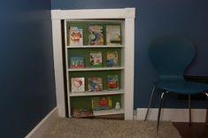 Bookcase Door to Secret Play Room