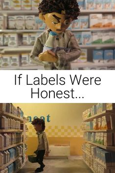 If Labels Were Honest is a vegan stop motion short created by Becky Lewer... #vegan #stopmotion #labels Vegan Animals, Animal Welfare, Vegan Lifestyle, Inspirational Message, Animal Rights, Stop Motion, Veganism, Charity, Inspire