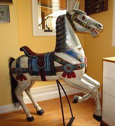 Antique Carousel Horse on Ebay