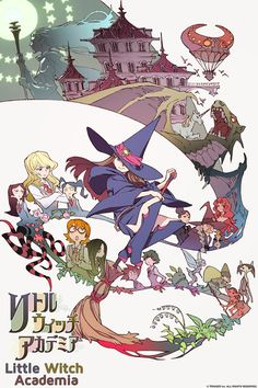 Little Witch Academia is a one-shot anime short about a girl who is inspired by a witch in her youth and becomes a student at a witch academy. More importantly, the animation is lively and the characters emotive and expressive. It was fun to watch and I wouldn't mind a 12 episode series animated in this style.