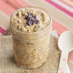Skinny Points Recipes » Succulent Reese's Overnight Oats