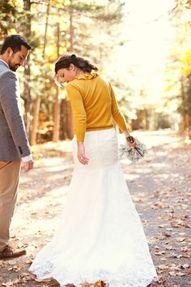 This seems like something I would do...haha #wedding #cardigan