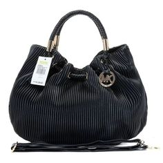 Want it. It can save 50% now on the site.Michael Kors Ring EmbossedLarge Black Drawstring Bags - more → http://fashiondesigningcatherine.blogspot.com/2012/07/want-it-it-can-save-50-now-on_12.html