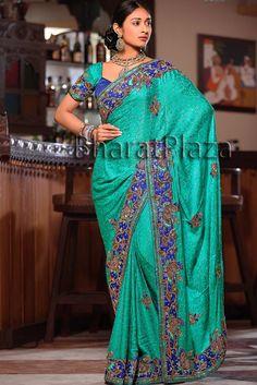 Most Wonderful Reception Saree  http://www.bharatplaza.in/most-wonderful-reception-saree.html