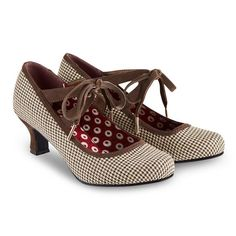 Joe Browns tweed kitten heels