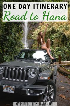 Road to Hana in Maui is a huge bucket list drive! It is filled with red and black sand beaches, secret beaches, waterfalls, bamboo forests, and so much more! In this guide I give all my driving tips for conquering the Road to Hana, a FREE map to save for your travels, and all the best swimming waterfalls along the Road to Hana! #roadtohana #maui #hawaii Greece Travel, Hawaii Travel, Ways To Travel, Travel Usa, Hawaii Usa, Maui Hawaii, Weekend In Portland, Vacation Packing, Vacation Ideas