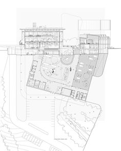 The Yale School of Architecture is dedicated to educating the next generation of leading architects and designers of the built environment. Yale Architecture, Architecture Drawings, Concept Architecture, Section Drawing, School Plan, Plan Drawing, Architectural Section, Built Environment, Student Work