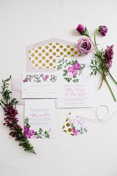 Stationery suite by Pink Piggy Design