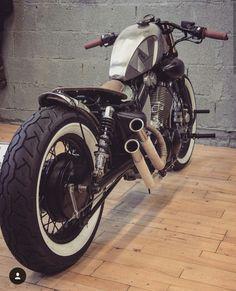 Virago Bobber, Virago 535, Honda Bobber, Bobber Motorcycle, Bobber Chopper, Scrambler, Brat Cafe, Pale Horse, Japan Fashion