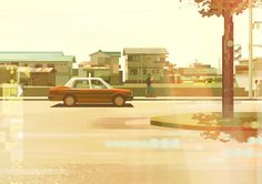 Wonderful Illustrations of Japan by James Gilleard – Fubiz Media