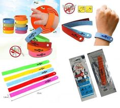 25 xANTI MOSQUITO BUG REPELLENT WRIST BAND BRACELET INSECT BUG LOCK CAMPING MOZZ