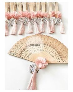 Handfan for the Bridesmaids Inexpensive Wedding Favors, Wedding Gifts For Guests, Unique Wedding Favors, Wedding Decorations, Wedding Notes, Wedding Fans, Wedding Welcome, Dream Wedding, Henna Night