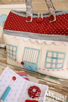 My country nest: House bag for a dreamer