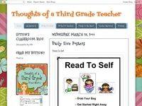 @Michelle White @Sheila Barton @Melinda Flanagan @Liz Carter  Third Grade Blogs