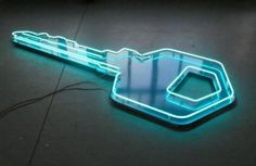 NEON 'KEY' SIGN ๑෴MustBaSign෴๑