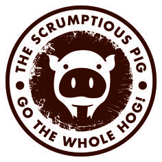 The Scrumptious Pig Logo Design