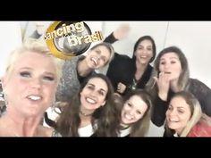 XUXA reencontra PAQUITAS no camarim do DANCING BRASIL