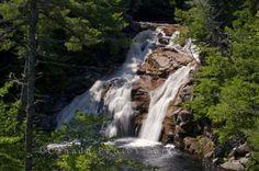 Mary Ann Falls Cape Breton Highlands National Park..