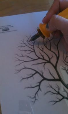 Use a wood burning tool to create intricate stencil patterns in heavy plastic sheets...sure beats the heck out of trying to cut all this with  scissors, an exacto or a stencil-cutter.