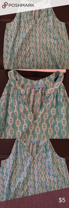 Great blue top. Very cute Great condition. tara michelle Tops Blouses