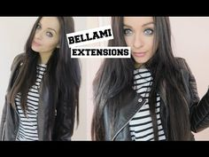 How I Clip In My Bellami Extensions - Hair Tips & Hacks - YouTube #teambellami #bellamihair #hairextensions