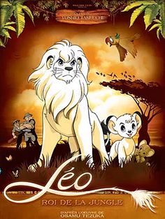 Le Roi Leo : regardé chez papi et mamie tous les mardis soirs après l'école Kimba The White Lion, Animated Movie Posters, Year Of The Tiger, Donkey Kong Country, 80 Cartoons, Childhood Movies, Animation, Classic Cartoons, Cartoon Movies