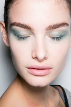 Beauty at Georgio Armani Spring / Summer 2014