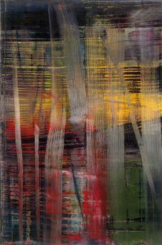'Wald (Forest) 892-4' by Gerhard Richter, 2005 #abstractart