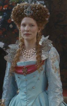 Elizabeth's Pale Blue Gown (Elizabeth: The Golden Age, 2007).
