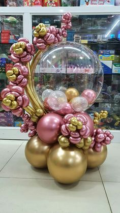 Birthday Balloon Decorations, Diy Baby Shower Decorations, Birthday Balloons, Balloon Arrangements, Balloon Centerpieces, Balloon Flowers, Balloon Bouquet, Ballon Backdrop, Balloon Science Experiments