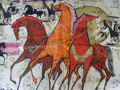 Horse Art Inspiration  Ancient Greek Horses in size, style, color