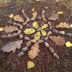 Landart, Mandala by {janne} Land Art, Mandala Art, Enchanted, Ephemeral Art, Nature Collage, Ecole Art, Nature Activities, Forest School, Preschool Art