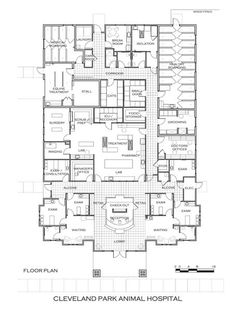 Cleveland Park Animal Hospital, Greenville, S.C. - 2012 #Veterinary Economics Hospital Design Competition - Floor plan - dvm360