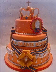 Queensday cake