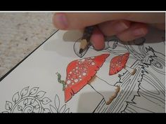 Thanks For Watching My Enchanted Forest Colouring Bookpage Part 1 Video 2 Will Be Uploaded Shortly
