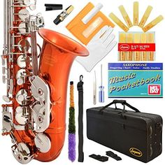 Lazarro Eb E Flat Alto Saxophone with Music Pocketbook, Case and Care Kit by Lazarro, http://www.amazon.com/dp/B00GH4U5GW/ref=cm_sw_r_pi_dp_x_LkzvzbYB974BD