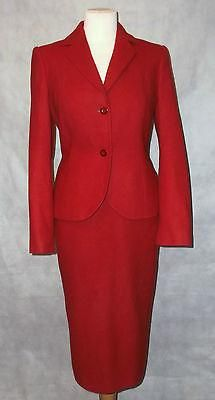 Exquisite LAURA ASHLEY cherry red wool vintage suit 12 Cherry Red, Laura Ashley, Wool, Suits, Stuff To Buy, Vintage, Suit, Vintage Comics, Wedding Suits