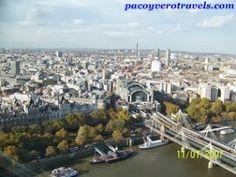 Vistas desde el London Eye #londres http://www.pacoyverotravels.com/2013/10/london-eye.html