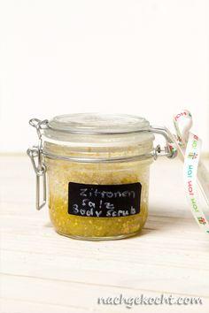 Zitrone Olivenoel Bodyscrub