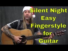 How to Play Silent Night (Easy Fingerstyle Guitar Lesson) Fingerstyle Guitar Lessons, Guitar Strumming, Guitar Chords And Lyrics, Guitar Tabs Songs, Guitar Chords Beginner, Easy Guitar Songs, Acoustic Guitar Lessons, Music Guitar, Playing Guitar