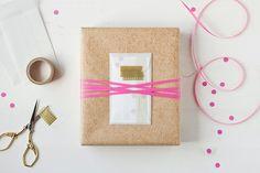 gift wrap - translucent mini envelope // anastasia marie