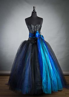 Hey, I found this really awesome Etsy listing at https://www.etsy.com/listing/172319277/size-small-blue-and-black-burlesque