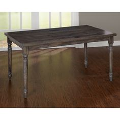 Simple Living Burntwood Dining Table | Overstock.com Shopping - The Best Deals on Dining Tables