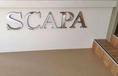 3D letters in zilver spiegel acrylic, www.reclamelettersonline.nl