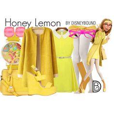 Honey Lemon by leslieakay on Polyvore featuring Billini, Nica, Olivia Pratt, Kate Spade, Jennifer Behr and Uniqlo