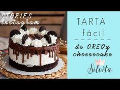 La más rica Tarta de Oreo y Cheesecake que jamás habrás probado. Garantizado! te gustará aunque no te gusten las oreos! Su textura es muy suave. Oreo Torta, Pan Dulce, Oreos, Sin Gluten, Cheesecakes, Cake Recipes, Food And Drink, Birthday Cake, Baking